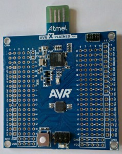 AVR Xplained mini