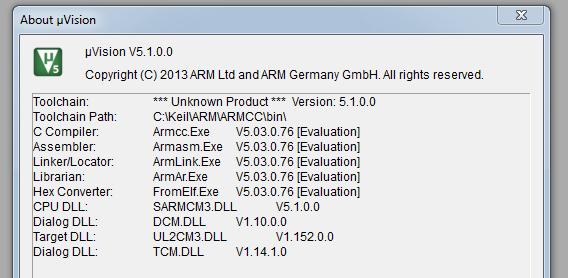 Keil ARM MDK Version confusion – IoT Insights