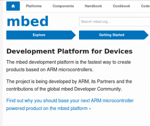 mbed, the online IDE for ARM – IoT Insights